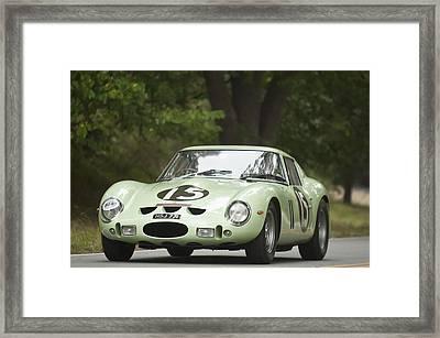 1962 Ferrari 250 Gto Scaglietti Berlinetta Framed Print
