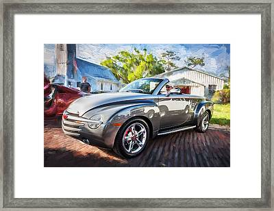 2006 Ssr Chevrolet Truck Painted  Framed Print