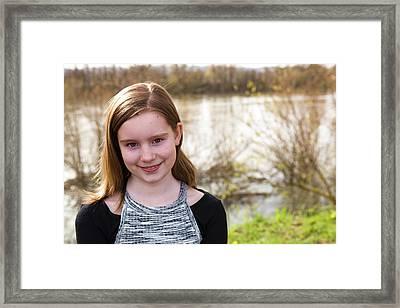 4 Framed Print by Rebecca Cozart