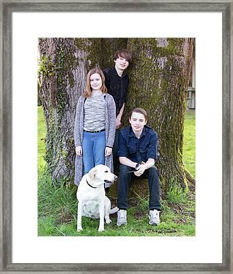 8 Framed Print by Rebecca Cozart
