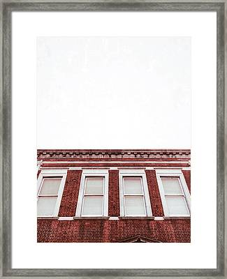A Building Exterior  Framed Print by Tom Gowanlock