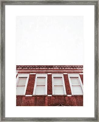 A Building Exterior  Framed Print