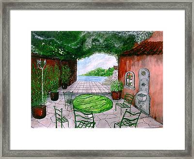 a la Provence Framed Print by KlausJuergen Rach