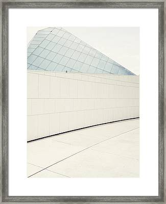 Abstract Architecture - Toronto Framed Print