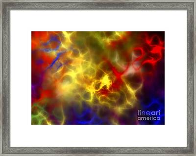 Abstract Composition Framed Print by Michal Boubin