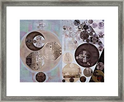Abstract Painting - Ghost Framed Print by Vitaliy Gladkiy