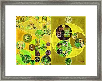 Abstract Painting - Maire Framed Print