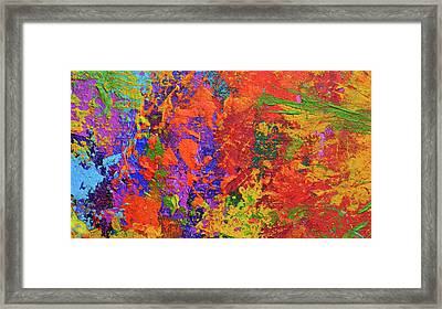 Abstract Painting Modern Art Contemporary Design Framed Print by Patricia Awapara