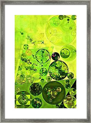 Abstract Painting - Myrtle Framed Print