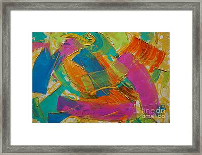 Silk Framed Print