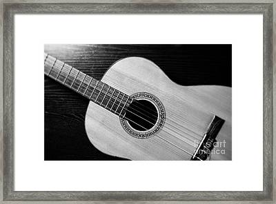 Acoustic Guitar Collection Framed Print by Marvin Blaine
