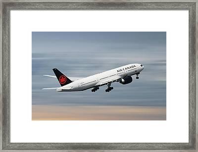 Air Canada Boeing 777-233 Framed Print
