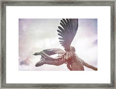 Airborne Angel Framed Print by JAMART Photography