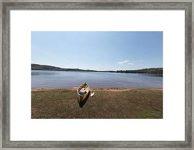 Algonquin Park, Ontario - Canada Framed Print by Josef Pittner