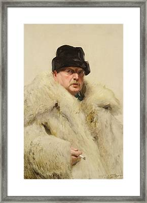Anders Zorn Framed Print by MotionAge Designs