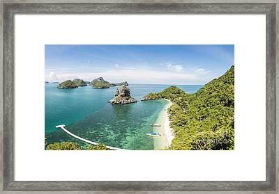 Ang Thong Marine National Park Framed Print