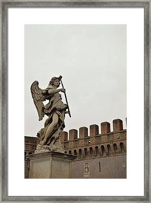 Angel With Sponge Framed Print by JAMART Photography