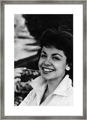 Annette Funicello, 1961 Framed Print by Everett