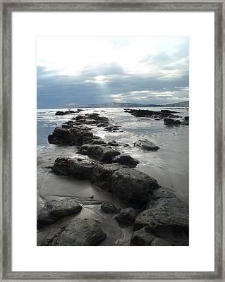 Another Storm Passes  2 Framed Print