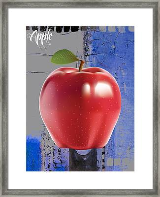 Apple Collection Framed Print