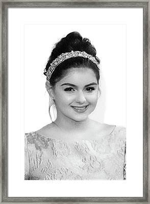 Ariel Winter Print Framed Print by Best Actors