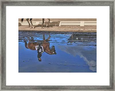 Dressage Art Impression  Framed Print by JAMART Photography