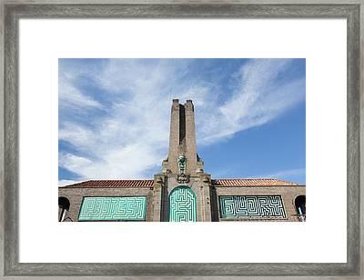 Asbury Park Casino Framed Print