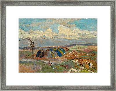 At The Front Framed Print by Maurice Cullen