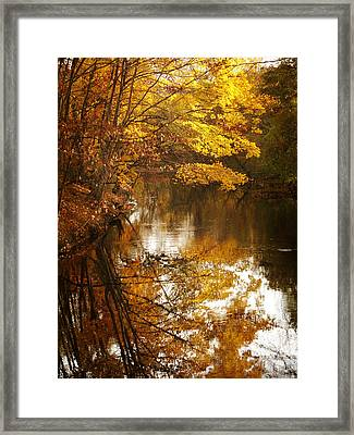 Autumn Reflected Framed Print by Jessica Jenney