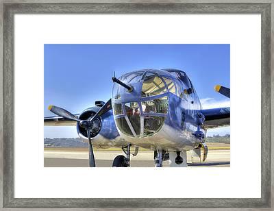 B-25 Framed Print