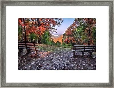 Babcock State Park Framed Print