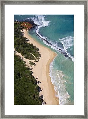 Baldwin Beach Framed Print by Ron Dahlquist - Printscapes