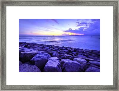 Bali Sunset Framed Print by Jijo George