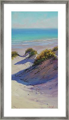Beach Dunes Framed Print