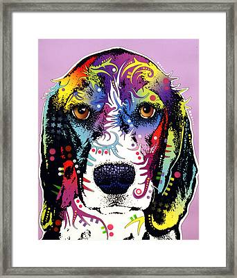 Beagle Framed Print by Dean Russo