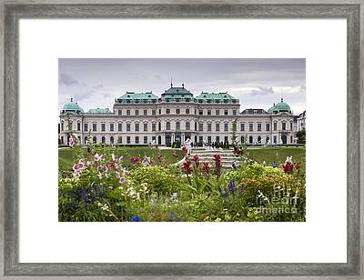 Belvedere Palace Framed Print by Andre Goncalves
