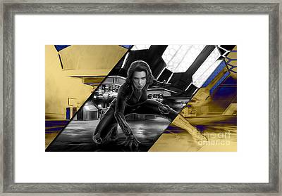 Black Widow Collection Framed Print