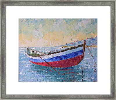 Boat Of Provence  Framed Print by Frederic Payet