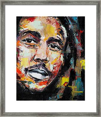 Bob Marley II Framed Print by Richard Day