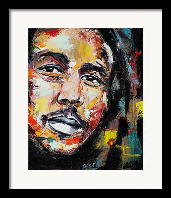 Cry Buffalo Soldier Framed Prints