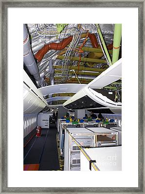 Boeing 747-8 Interior Framed Print by Mark Williamson