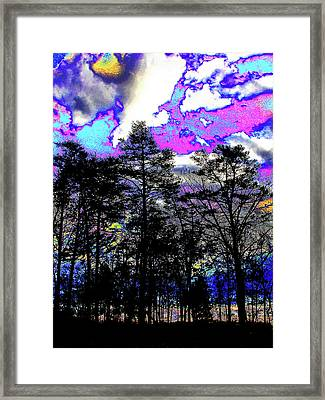 Brash Braddock Sunset Framed Print