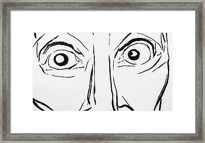 3 Framed Print by Brian Kendall James