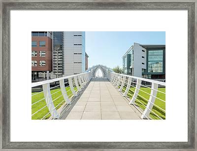 Bridge Framed Print by Svetlana Sewell