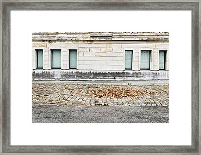 Building Exterior  Framed Print by Tom Gowanlock