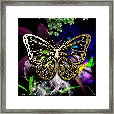 Butterfly Collection Framed Print by Marvin Blaine