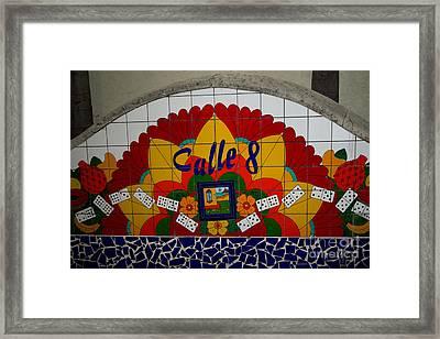 Calle Ocho Cuban Festival Miami Framed Print
