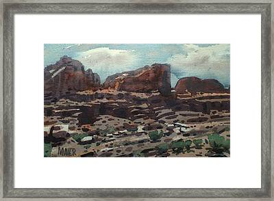 Canyonlands Framed Print by Donald Maier