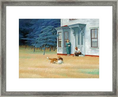 Cape Cod Evening Framed Print