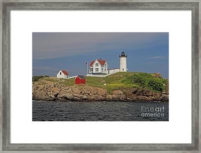 Cape Neddick Light Framed Print